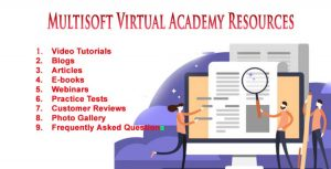 Multisoft Virtual Academy's Resources